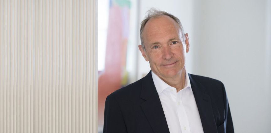 Professor Tim Berners-Lee receives the Turing Award for 2017