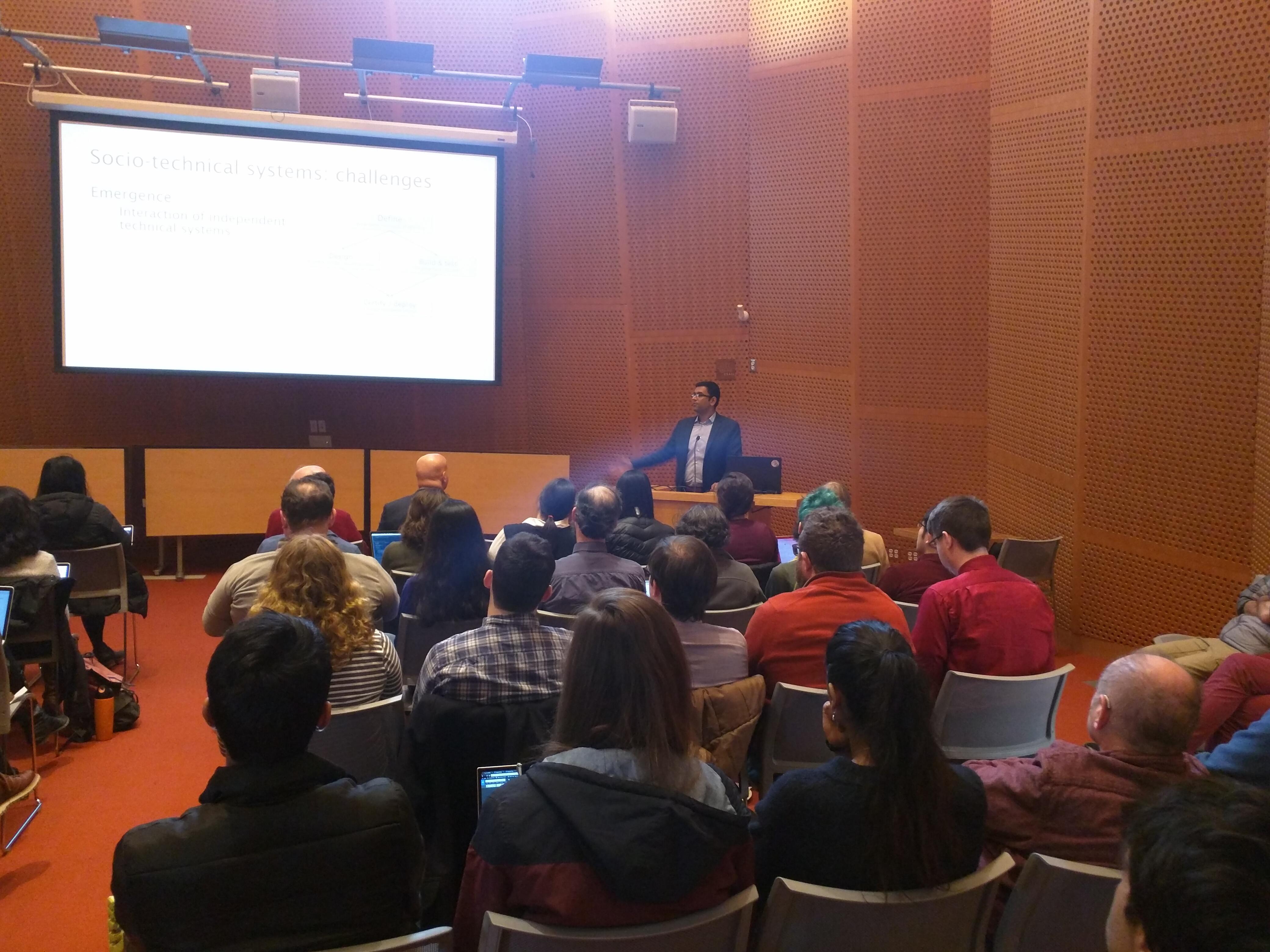 Arvind Narayanan (Princeton) Visits MIT